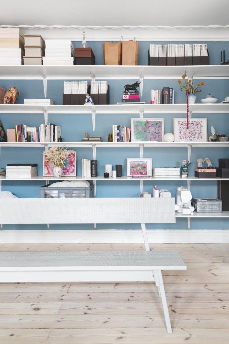 avoir un intérieur stylé comme une pro // Adopter une bibliothèque murale