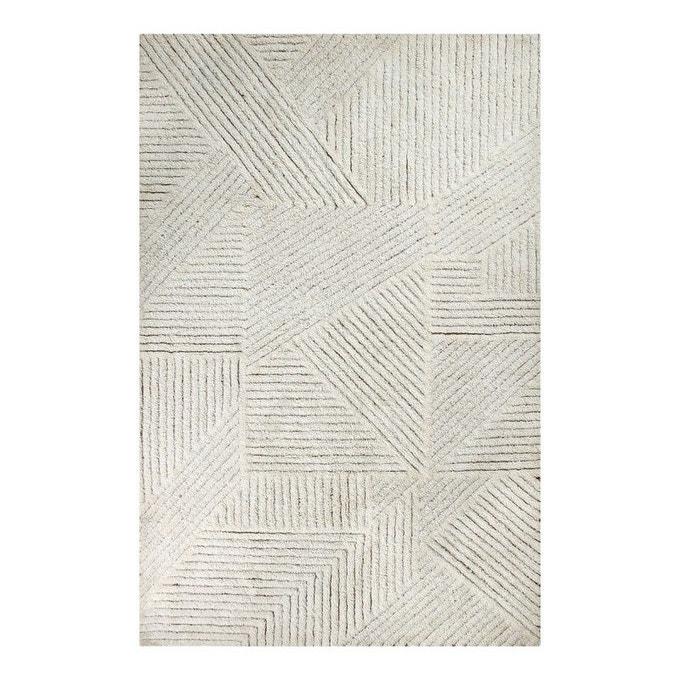 Tapis en laine lavable en machine, Fields - Lorena Canals