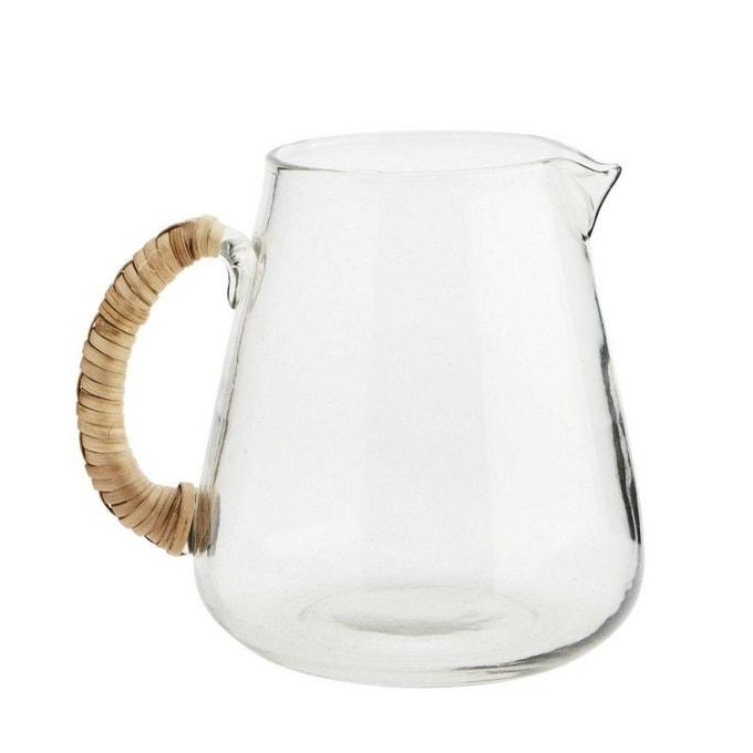 Carafe à eau avec sa poignée bambou - Madam Stoltz