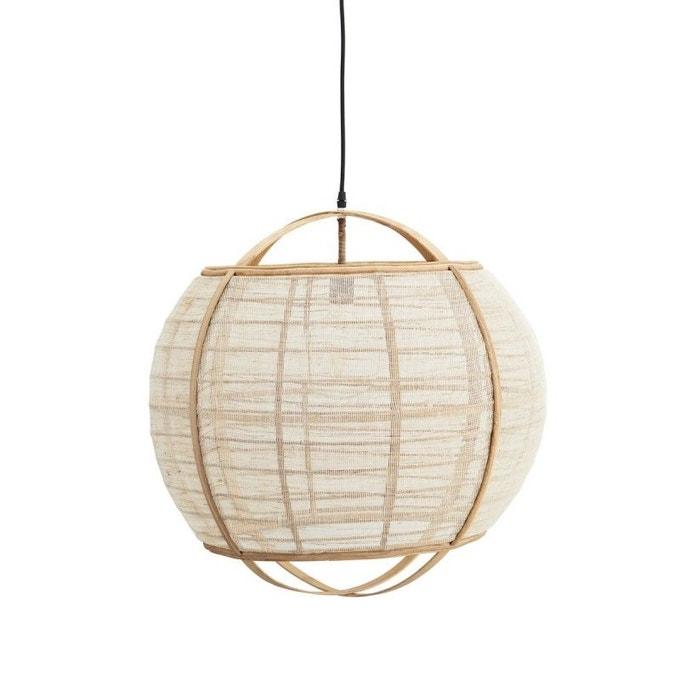 Suspension bambou lin sphère - Madam Stoltz