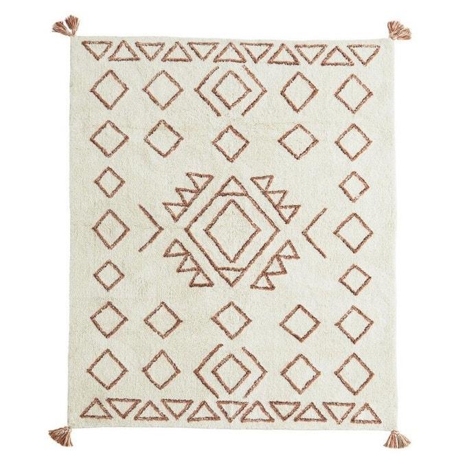 Tapis tufté motif géométrique, 140x200 cm - Madam Stoltz
