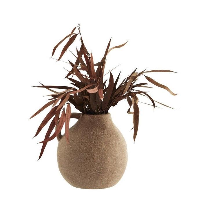 Vase en grès avec anse - Madam Stoltz