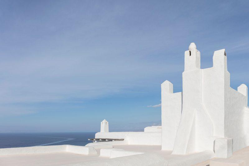 [ Décors des îles grecques ] Hôtel Papyrella à Mykonos // Extérieurs face à la mer