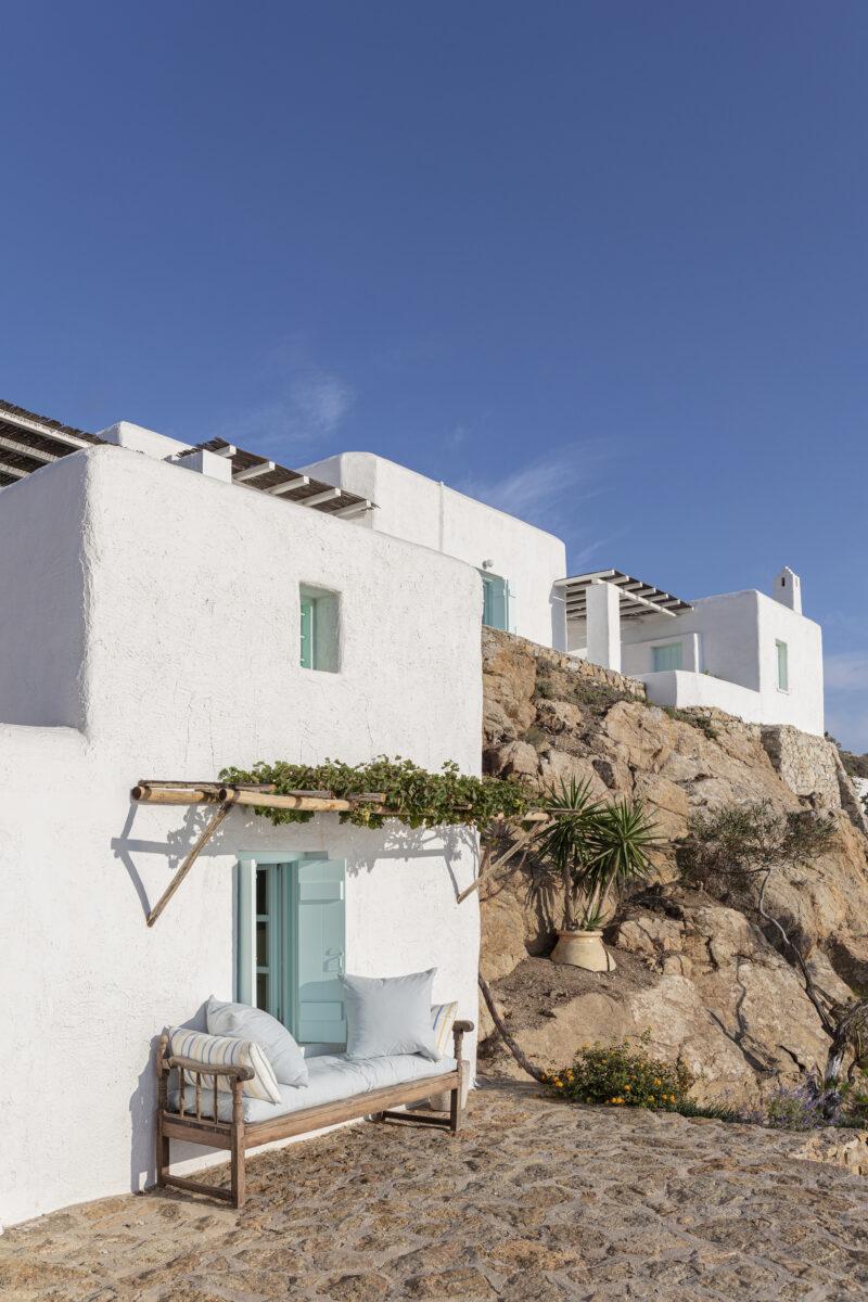 [ Décors des îles grecques ] Hôtel Papyrella à Mykonos en tradition et modernité
