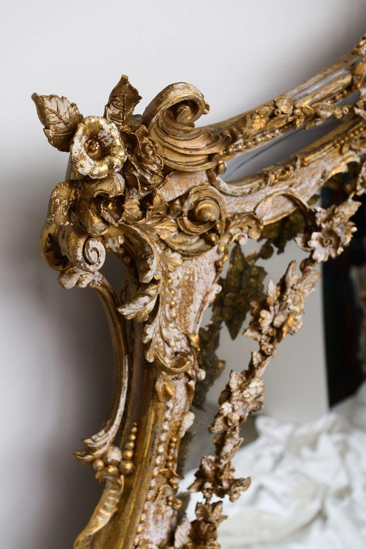 Décorer avec des miroirs antiques