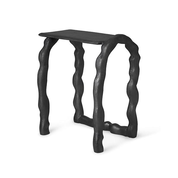 Table d'appoint en aluminium, Rotben, design : Anna Maria Øfstedal Eng pour Ferm Living