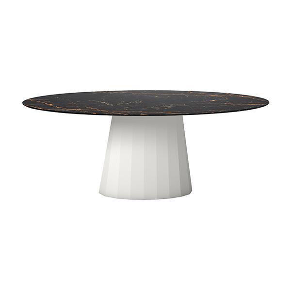 Table ovale, Ankara INDOOR, design : Constance Guisset pour Matière Grise