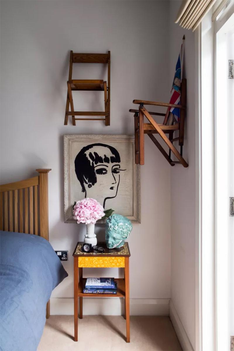Penser un décor de mur en relief // L'intérieur de Ed Burstell à Londres
