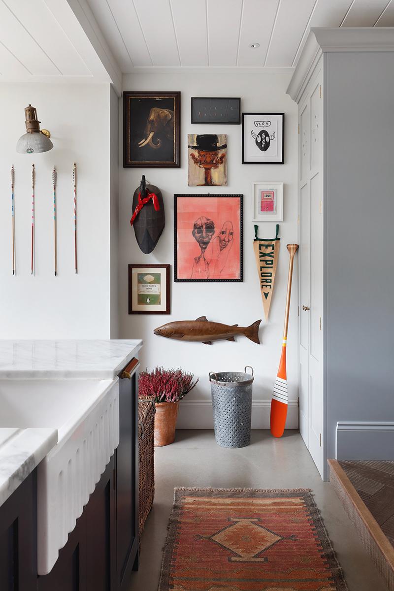 Penser un décor de mur en relief // Ham interiors - Projet : The Retreat Barnes