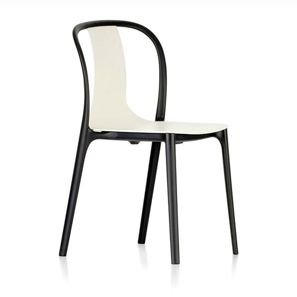 Chaise Bouroullec Belleville plastic, design : Ronan & Erwan Bouroullec poura Vitra