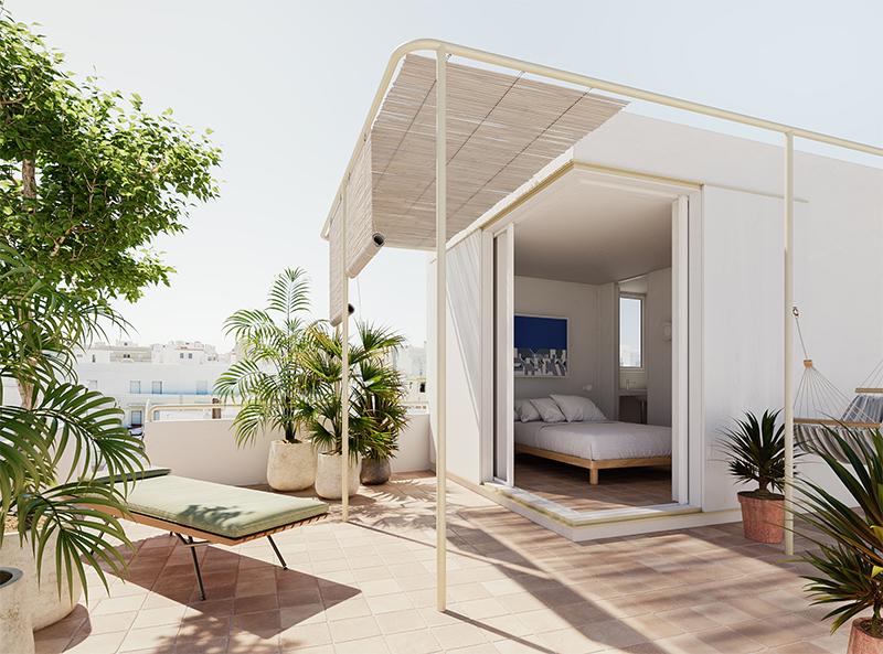 The Addresses, trois chambres d'hôtes minimalistes au Portugal - Chambre d'hôtes CASA DOIS, Olhão