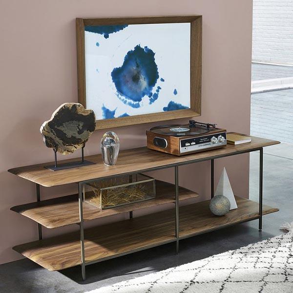 Meuble tv hi-fi noyer, Jacobson sur Ampm