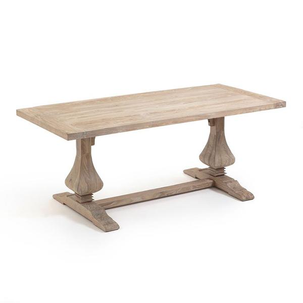 Table rectangulaire orme massif, Lorette sur Ampm
