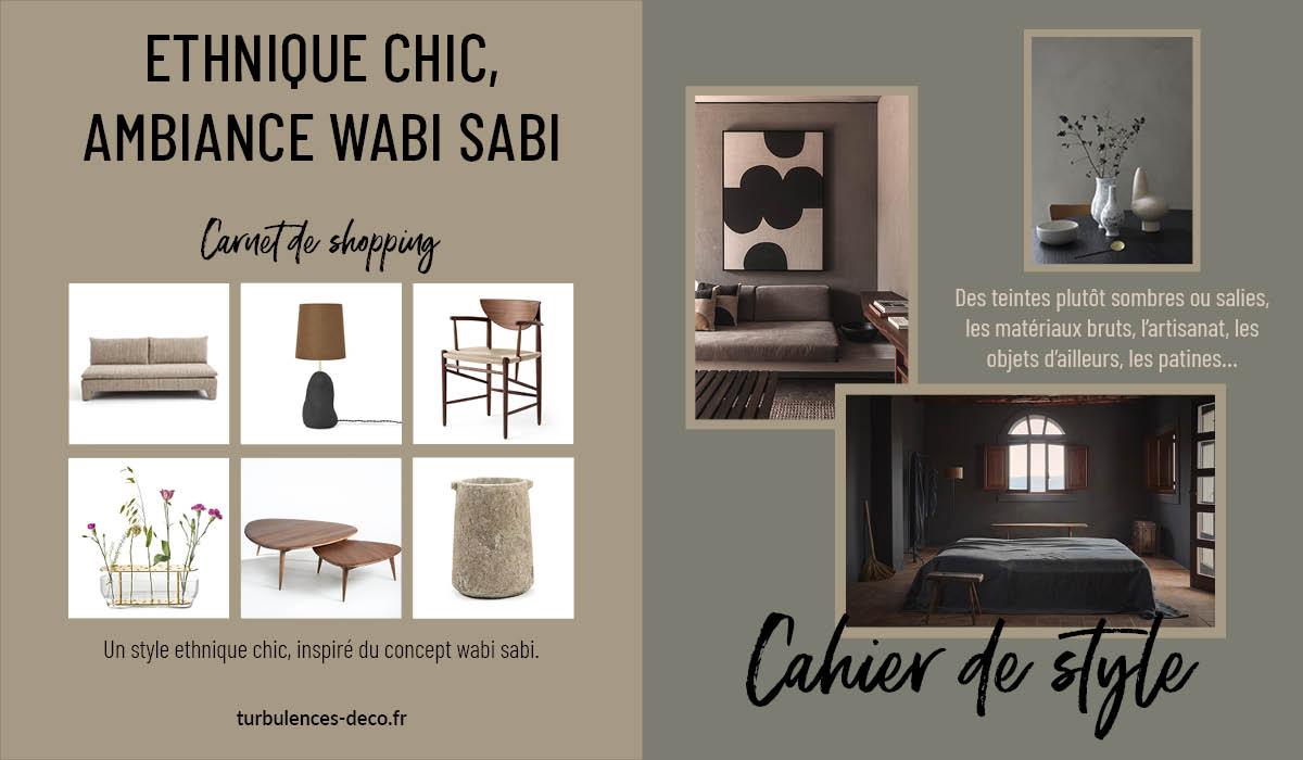 [ Cahier de style et de shopping ] Ethnique chic - Ambiance wabi sabi