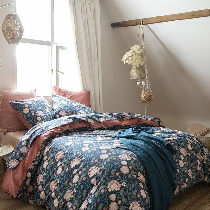 Housse de couette en percale de coton, Fairy Blossom - Essix