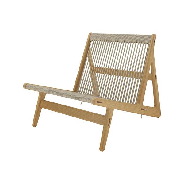Fauteuil lounge, MR01 Initial, design : Mathias Rasmussen pour Gubi