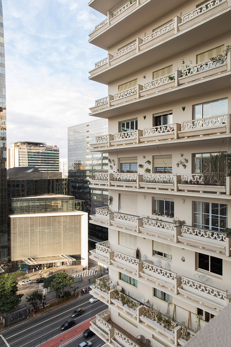 RF Apartement à à São Paulo par le studio Super Limão
