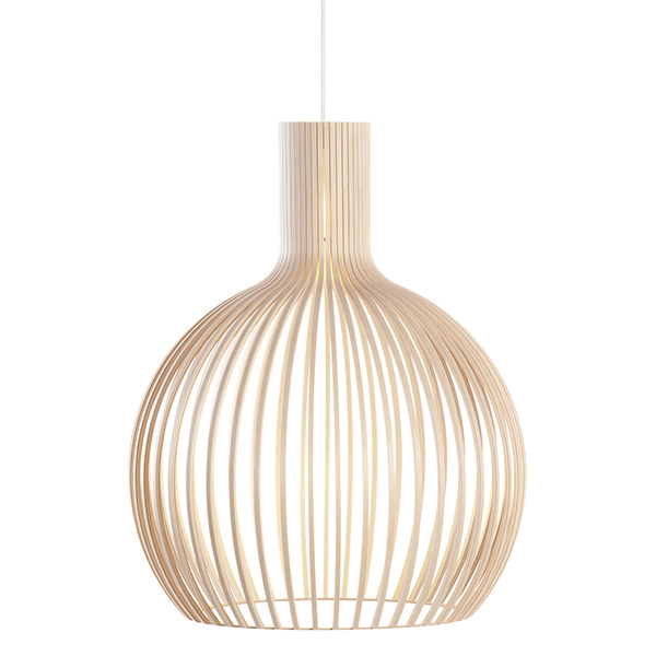 Suspension en bois, Octo, design : Seppo Koho pour Secto Design