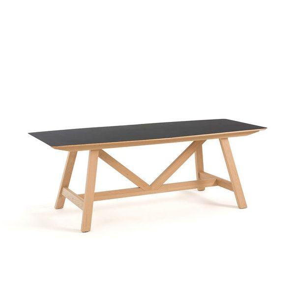 Table en métal, Buondi, design : E. Gallina sur Ampm