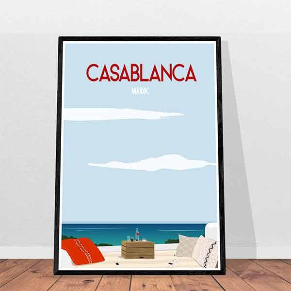 Affiche Casablanca - Atelier Rajmaj sur Etsy