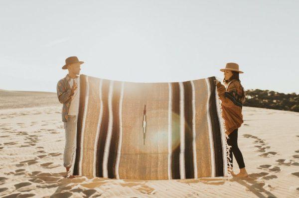 Couverture ou tapis mexicain, fait-main sur la boutique EtsyThe Wild Whispers Shop