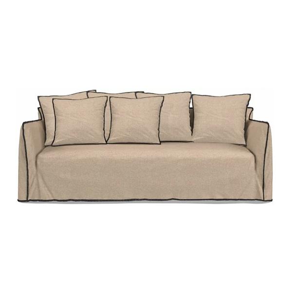 Canapé 4 places en lin, Gervasoni - Gervasoni