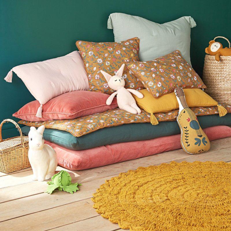 Housse pour matelas de sol, Velvet en couleur havane - La Redoute Intérieurs