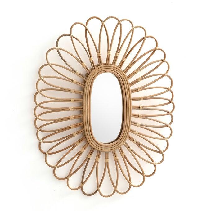Miroir en rotin forme ovale, Nogu - La Redoute Intérieurs