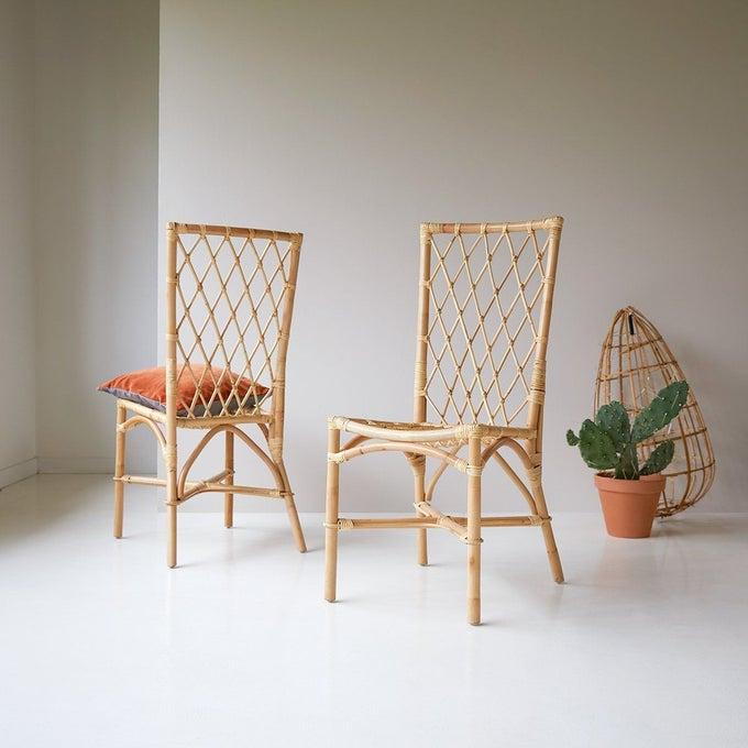 Chaise en rotin, Zélie - Tikamoon