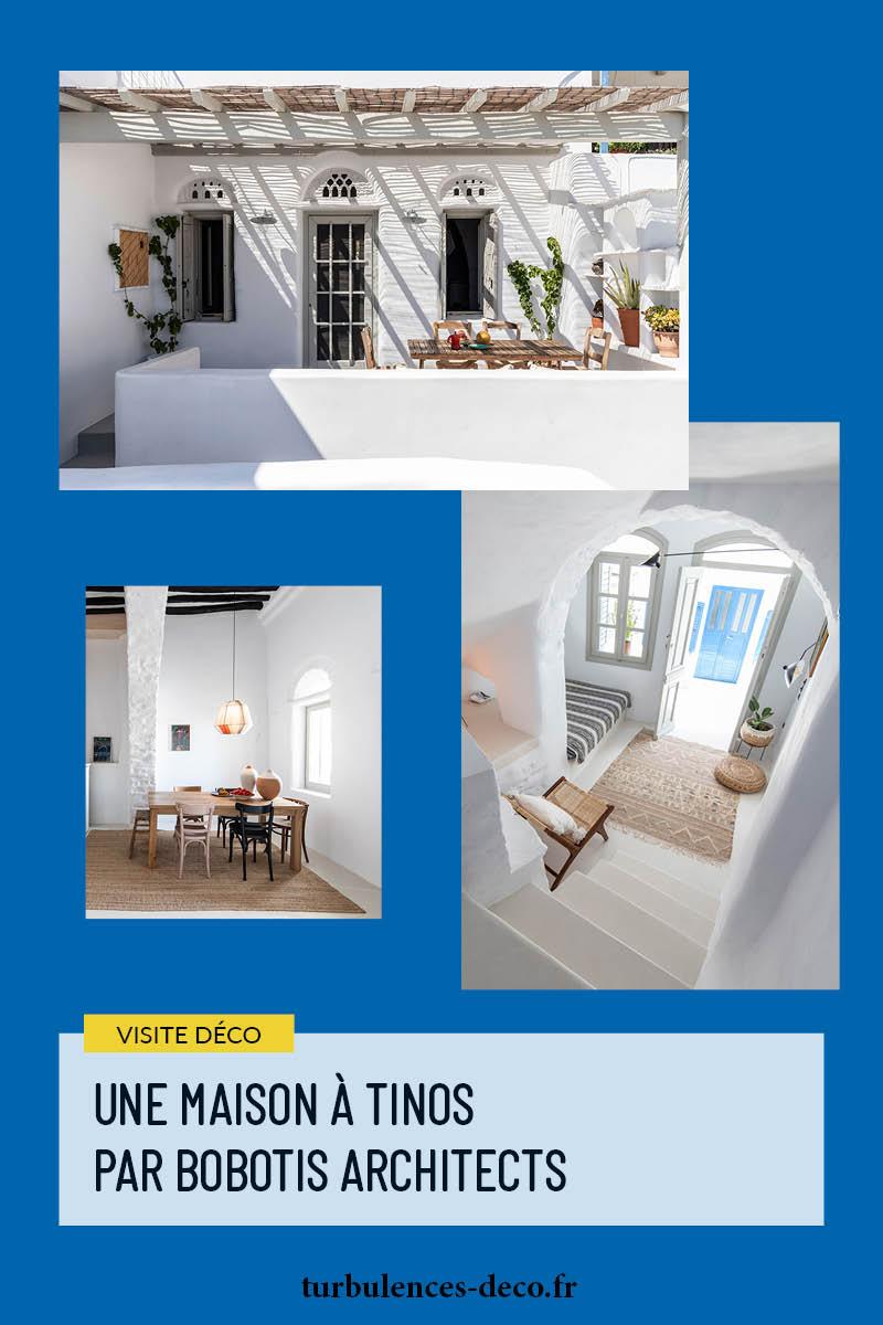 Une maison à Tinos par Bobotis architects à retrouver sur Turbulences Déco