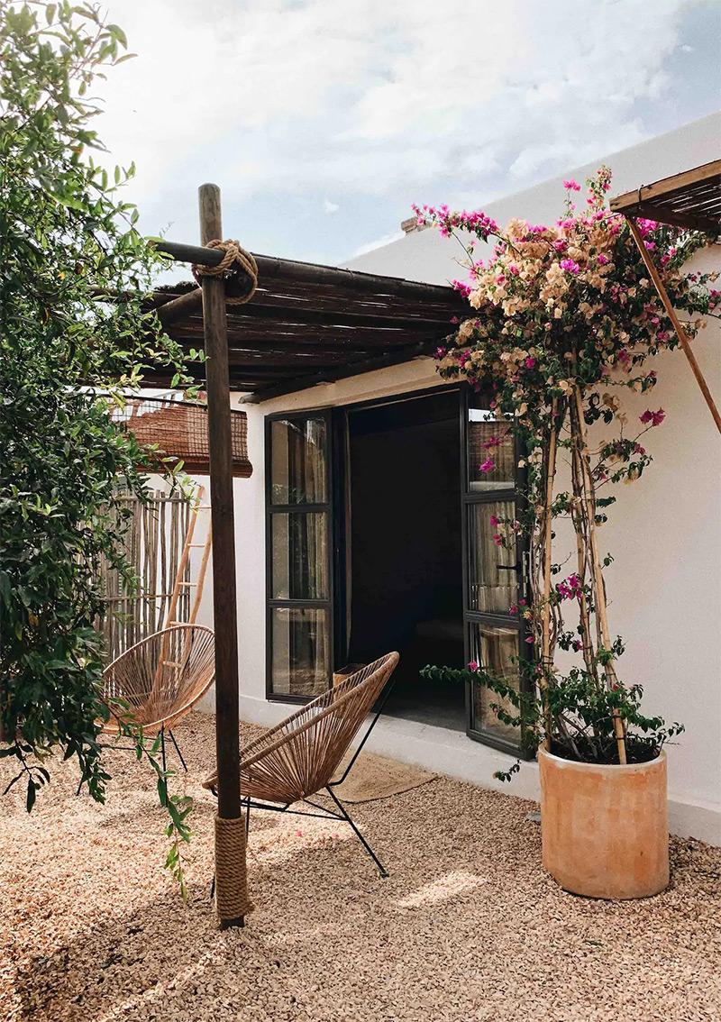 SA Caseta, une maison d'hôtes boho à Majorque // Le studio