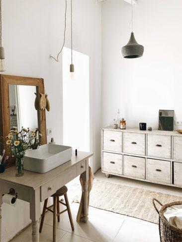 SA Caseta, une maison d'hôtes boho à Majorque // Meuble de récup