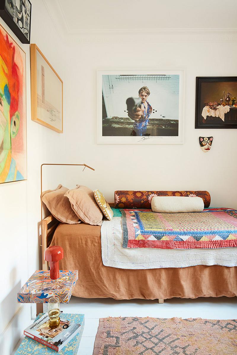 Un petit appartement bien pensé et ultra déco par YSG // Une chambre d'enfant bohème