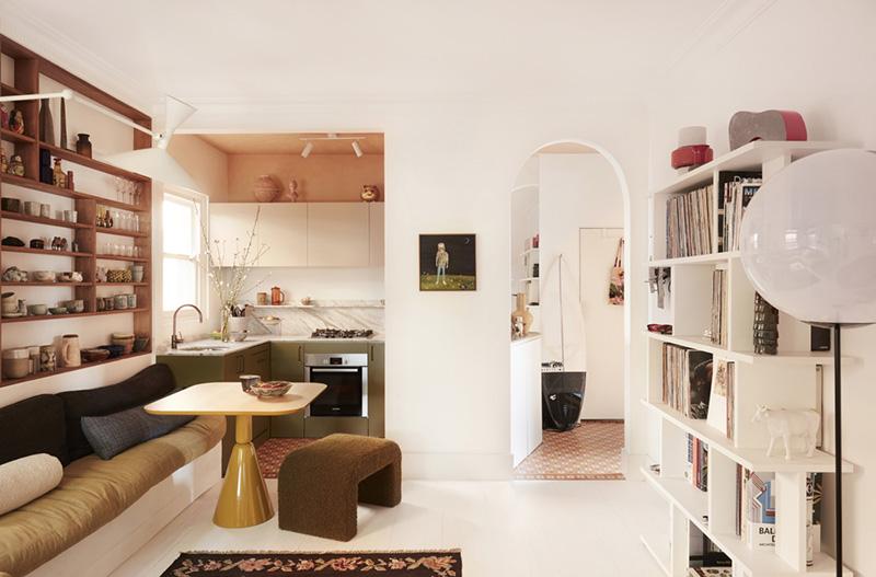Un petit appartement bien pensé et ultra déco par YSG