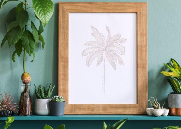 Palmier imprimé sur tissu sur la boutique Vanessa Ashley Designs