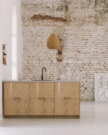 FRØPT studio, une marque polonaise qui conçoit des façades durables pour mobilier ikea // Collection Norwegian Wood