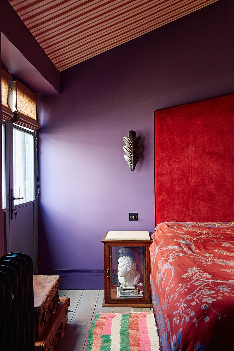La montée du style Grandmillennial // La maison de la décoratrice anglaise Rachel Chudley à Londres