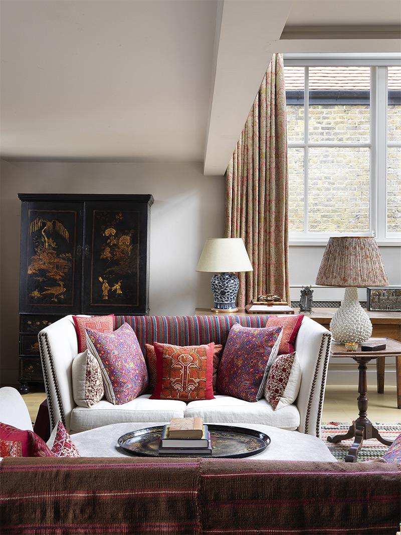 Design intérieur :Sibyle Colefax - Maison à Londres