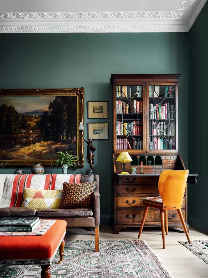 Design intérieur : Brandon Schubert - Projet : North London flat