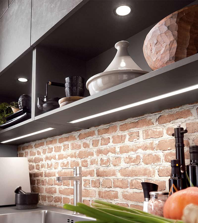 Soigner votre éclairage pour une cuisine plus fonctionnelle // Cuisine Plus