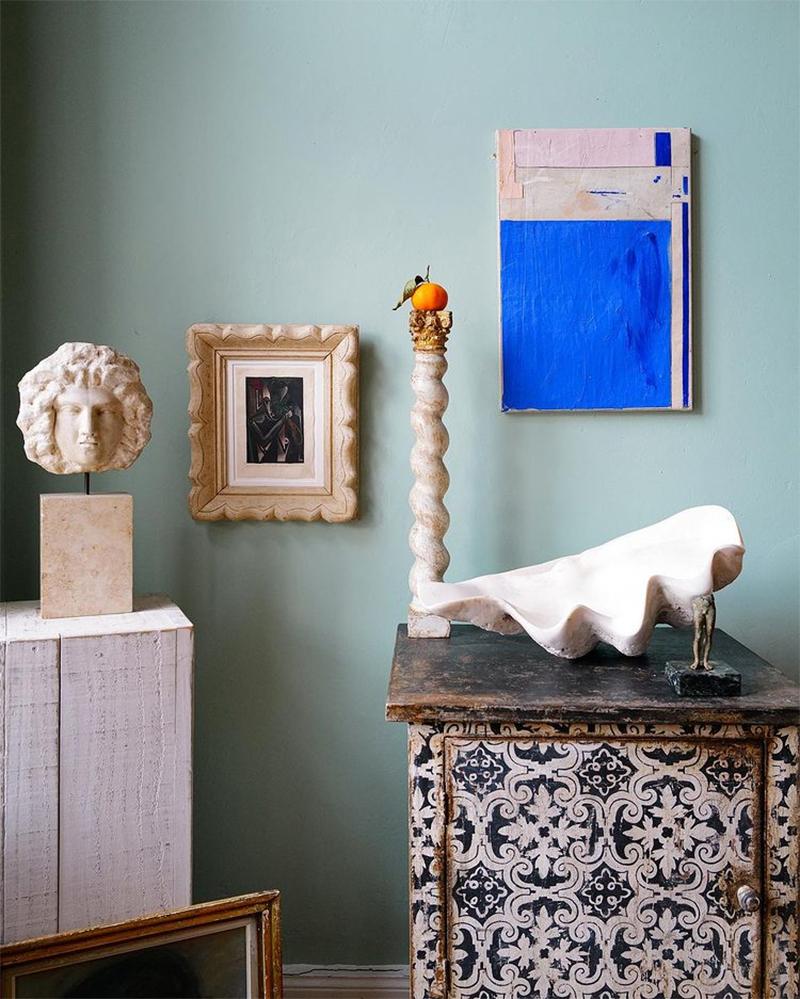 Agence Heroldian Art - Appartement Young Eclectic à Hambourg, l'art de mettre en scène des antiquités