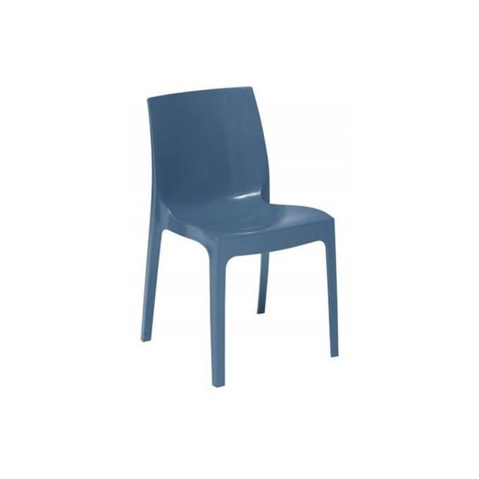 Chaise Empilable Bleue, VIENNE - Declikdeco