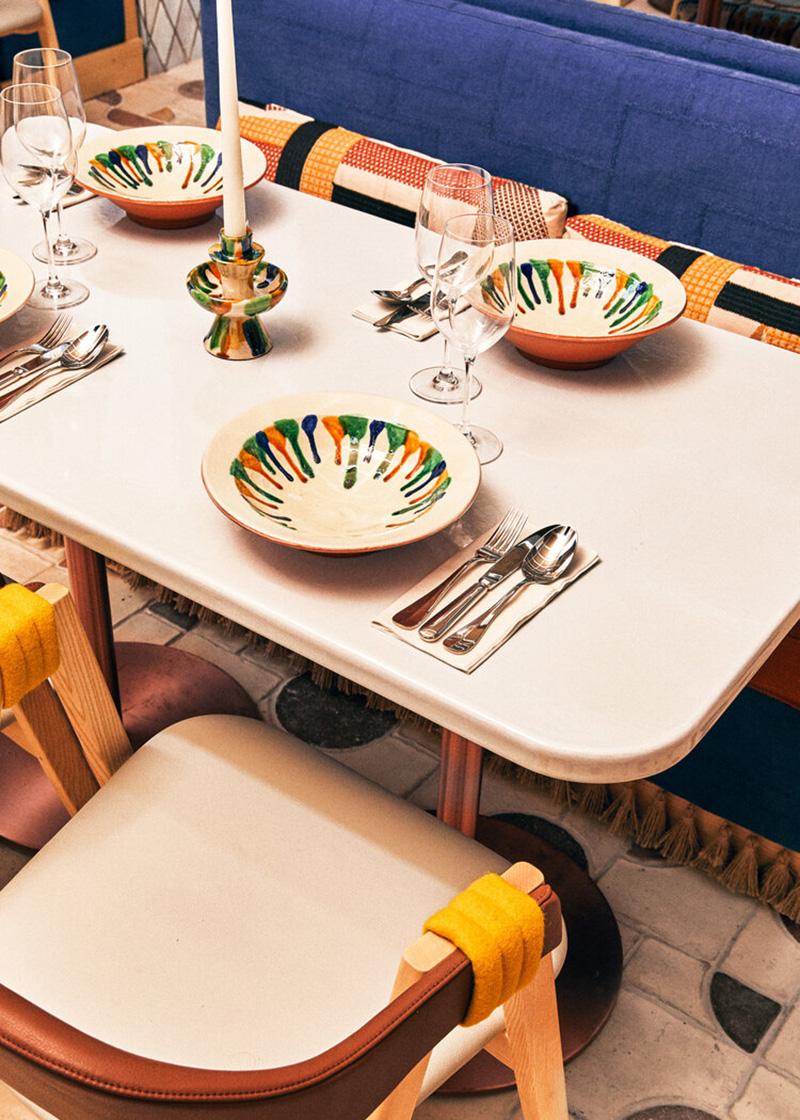 Restaurant Sabbaba à Ibiza par Dorothée Meilichzon - Experimental Group