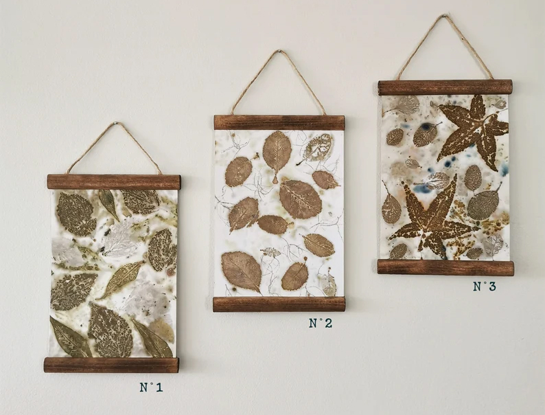 """Tenture murale collection """"Au Naturel"""", sur la boutique AntidoteFloral"""