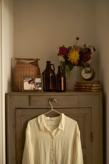 La maison normande de Miss Maggie, alias d'Héloise Brion par Zara Home // Petit placard relooké