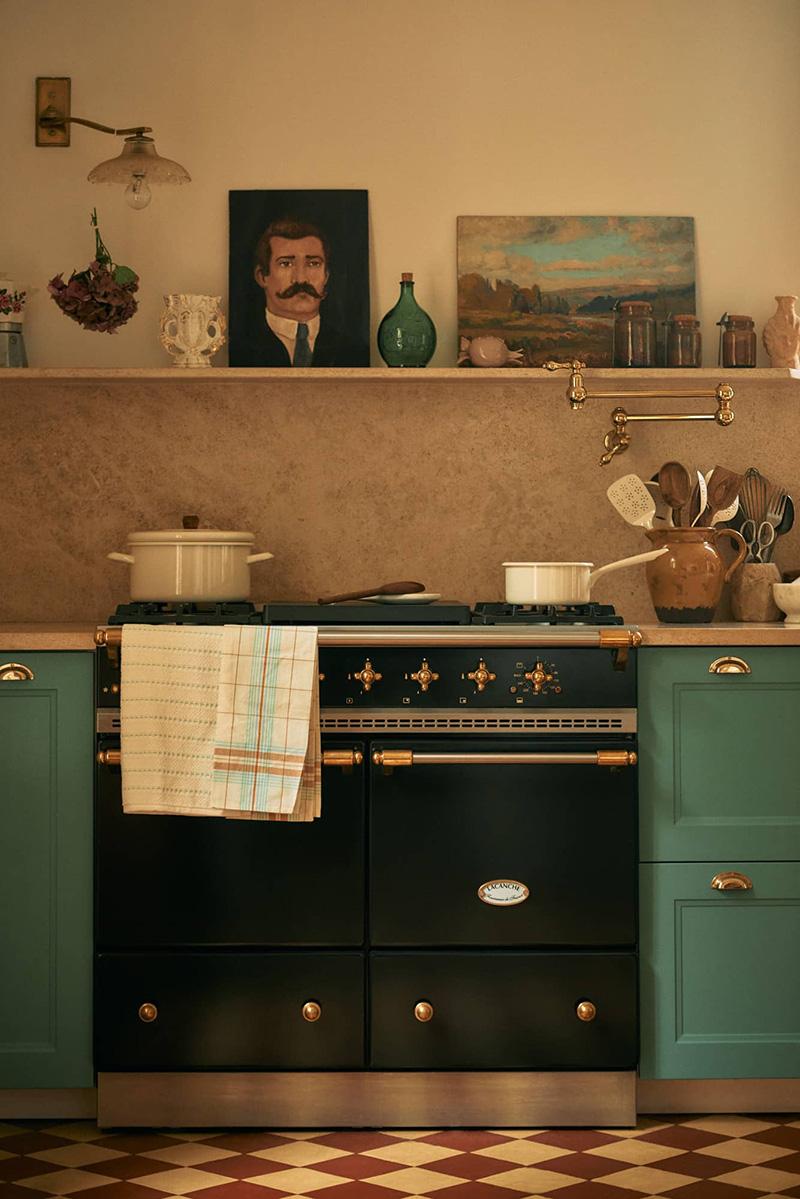 """La maison normande de Miss Maggie, alias d'Héloise Brion par Zara Home // Une cuisine """"old new"""""""