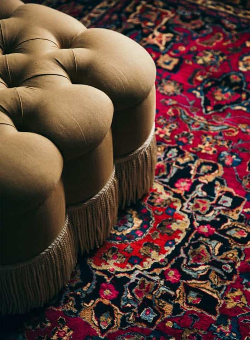 Osez le mélange des motifs // Design intérieur : Anna Spiro design - Projet : Sorrento beach house