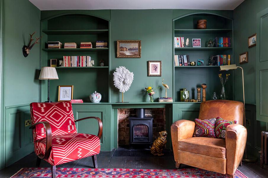 Design intérieur : Emilie Fournet interiors - Projet : Three bedroom renovation in de Beauvoir Hackney