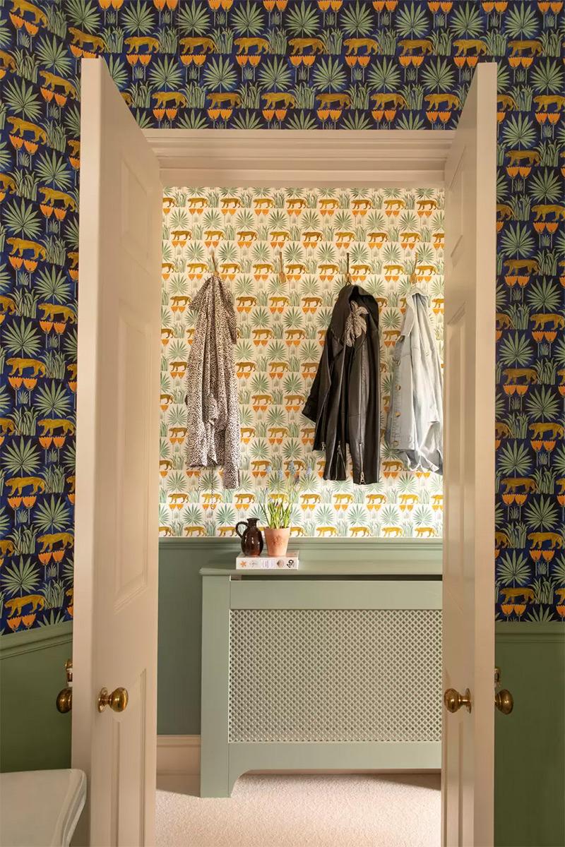 Osez le mélange des motifs // Design intérieur : Emma Ainscough