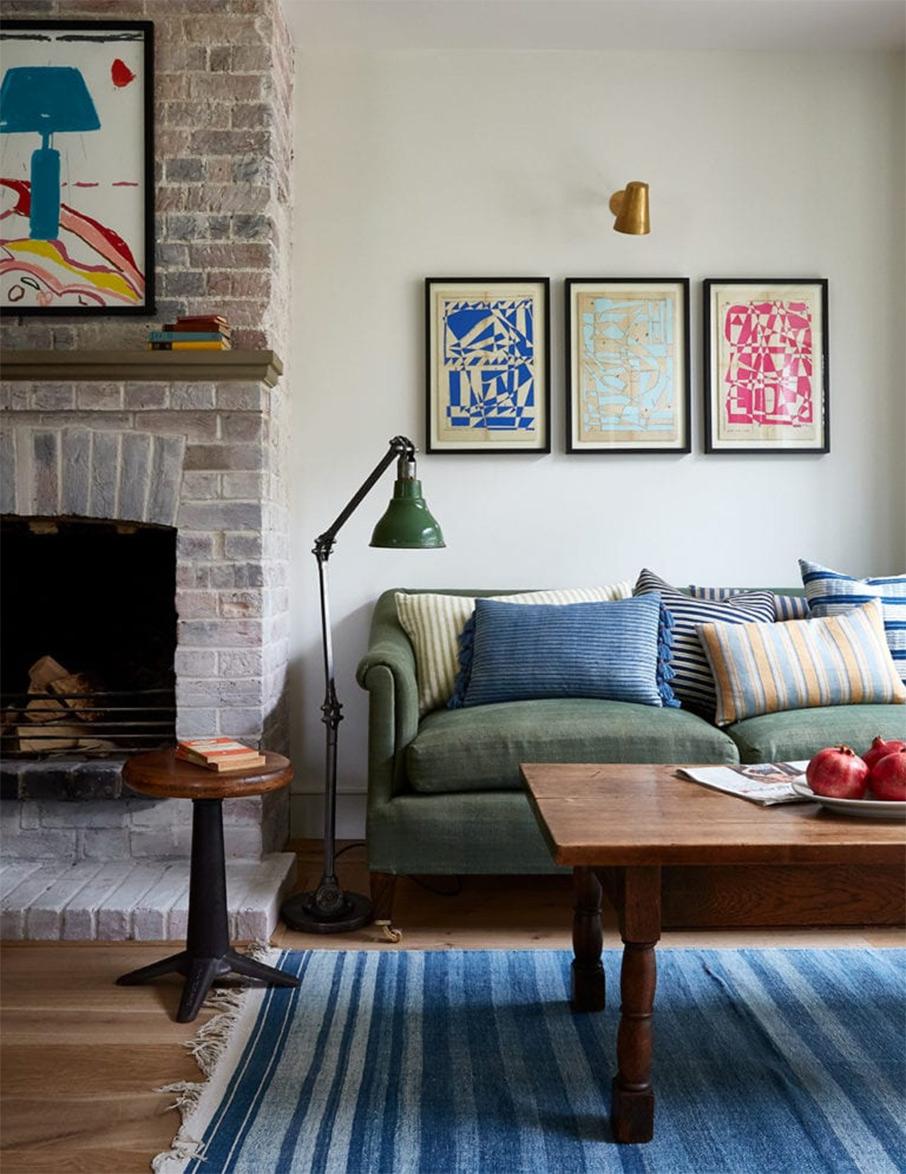 Design intérieur : Nicola Harding- Projet : Country house Berkshire